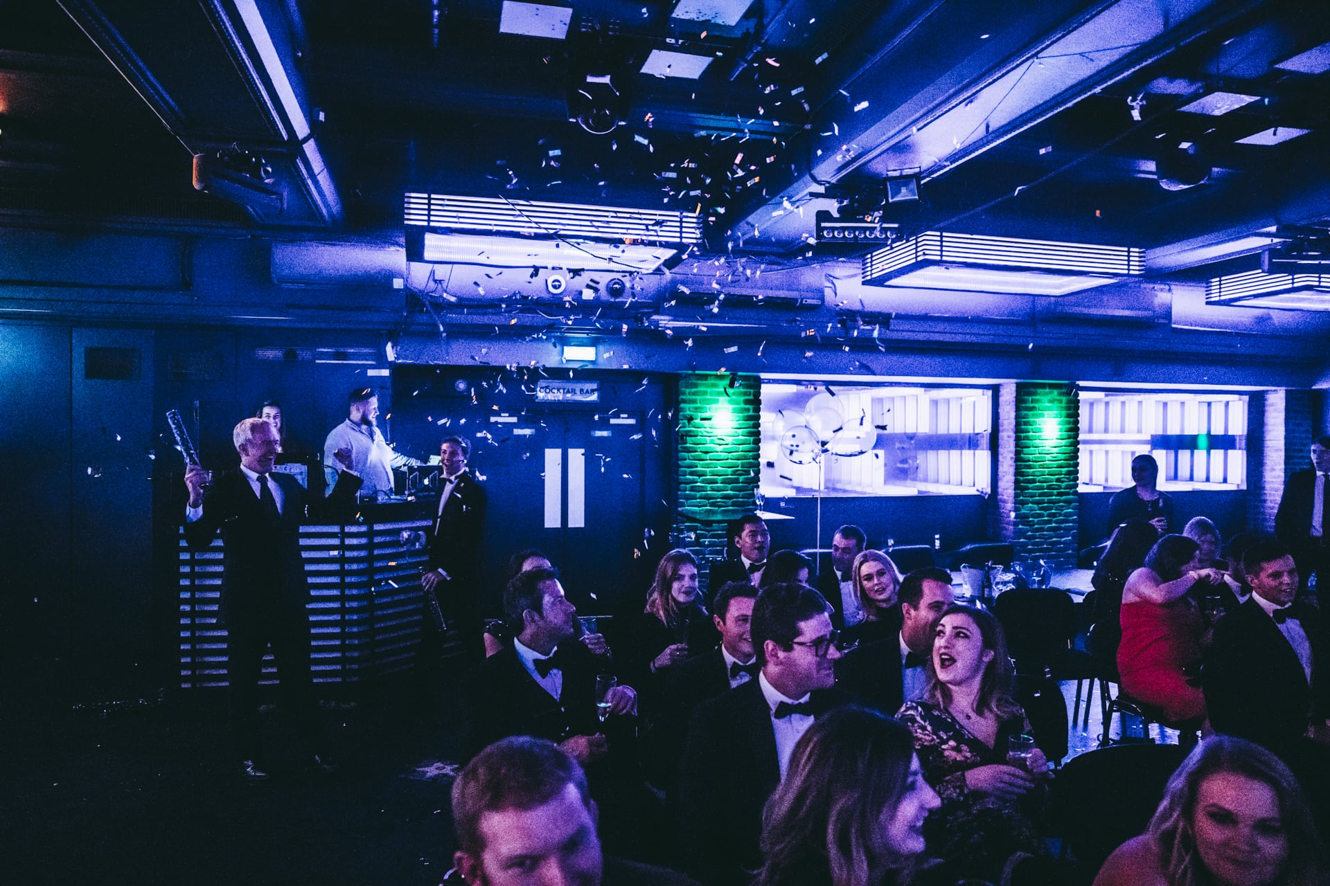 Corporate event party photography