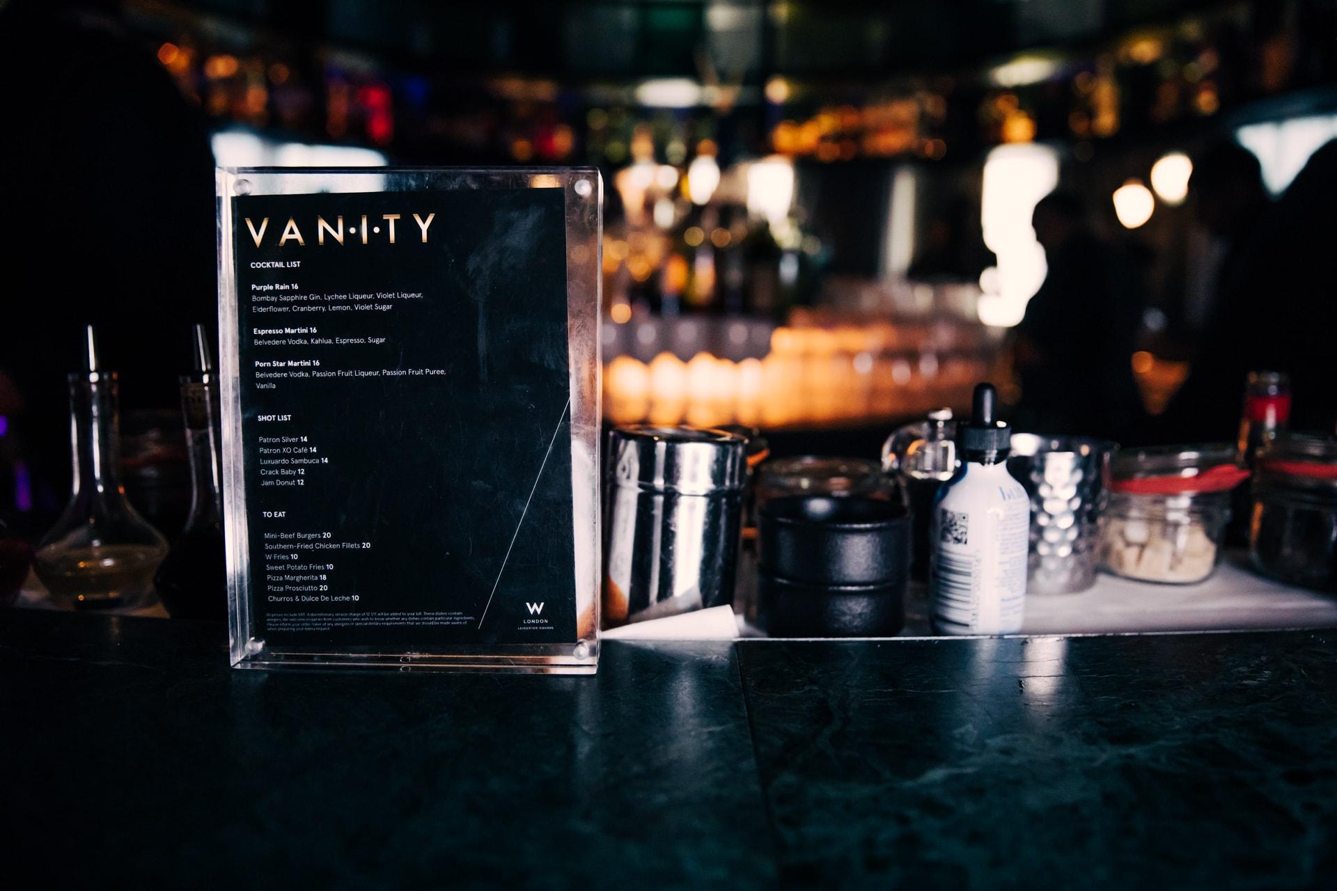 Vanity List