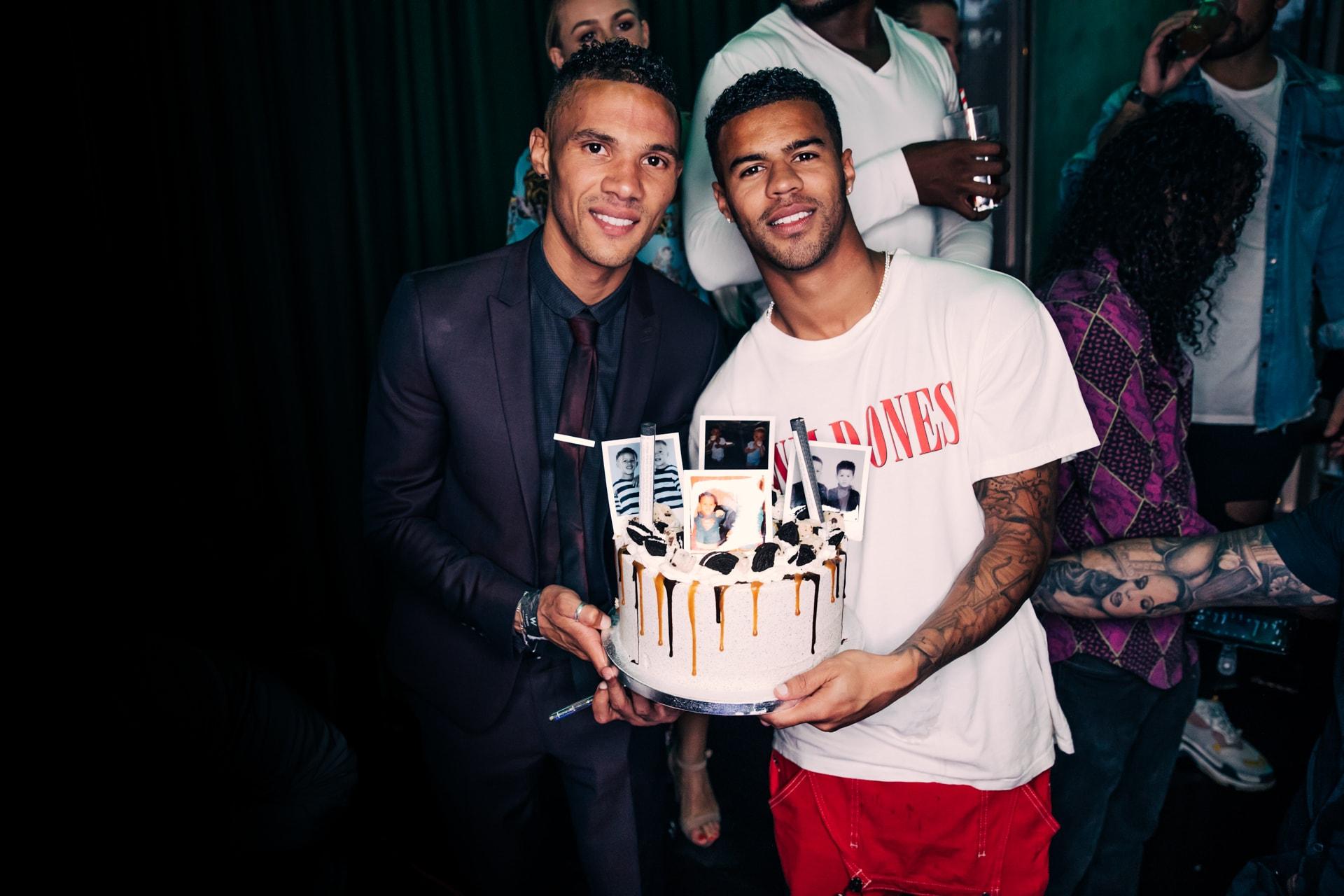 Jaydon & Kieran Gibbs Birthday