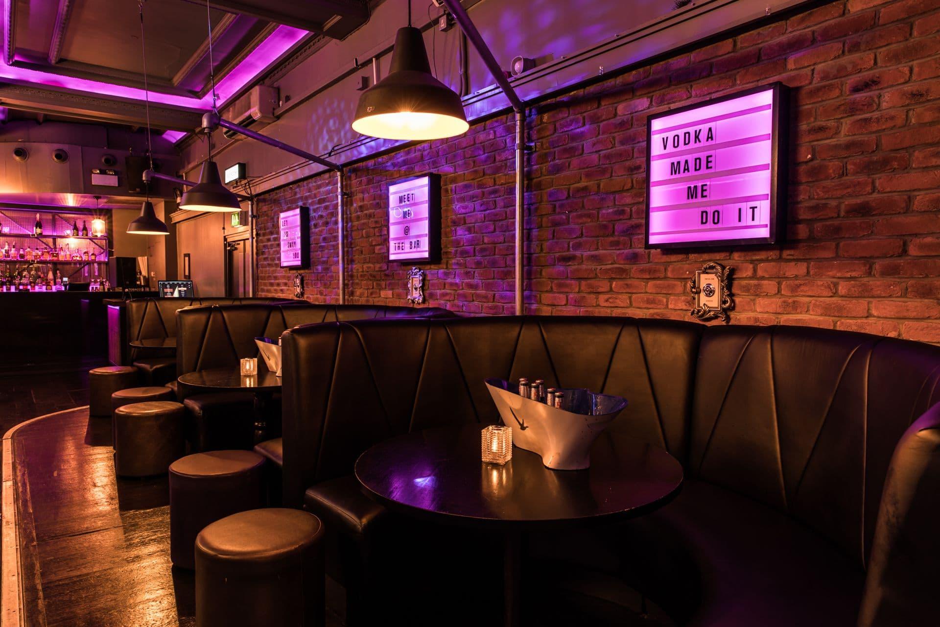 Sway Bar London Venue Photos