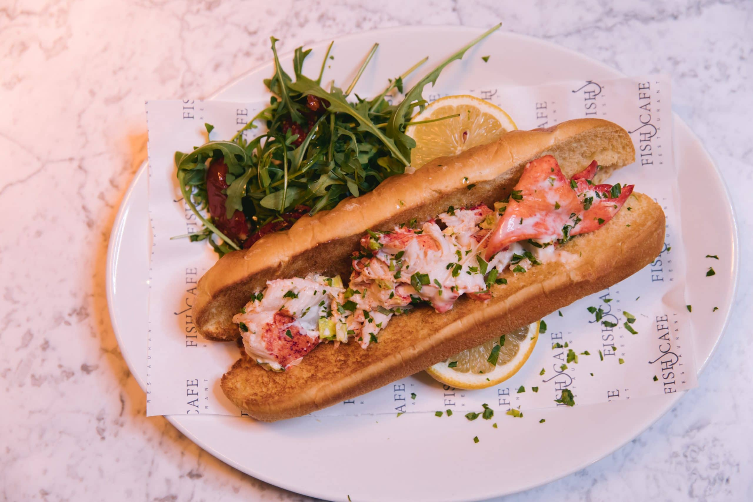 Food Photography for Fishcafe Hampstead