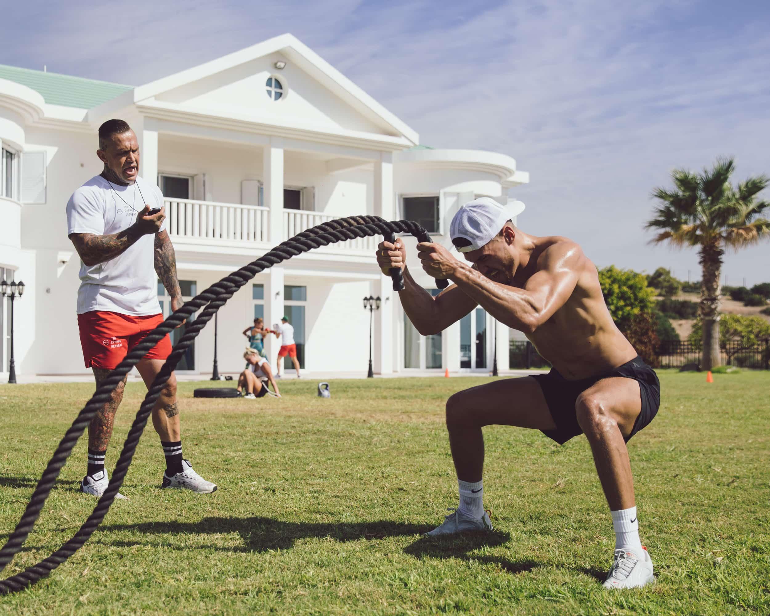 Fitness and Wellness retreat Lifestyle Photographer