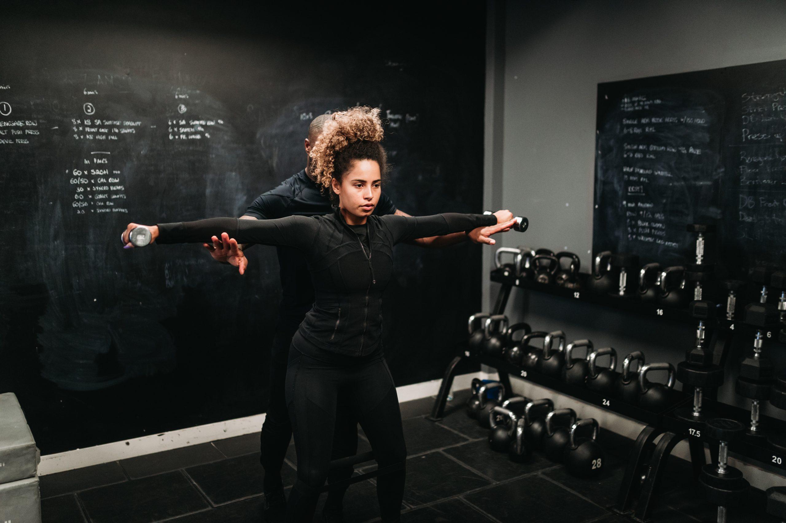 Fitness photography London