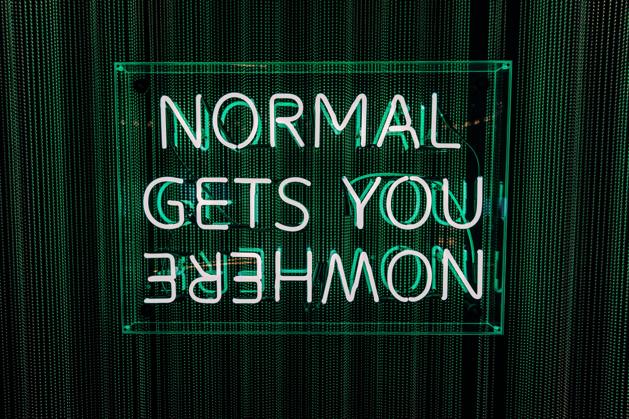 Normal Gets You Nowhere - The W Hotel
